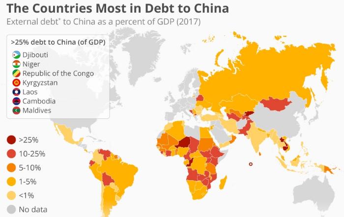 Китай захватывает Африку, и она начинает ...